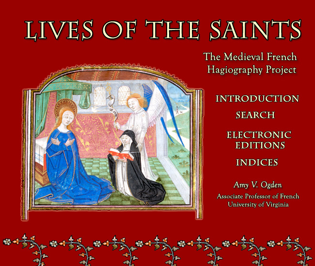 Logo for Lives of the Saints